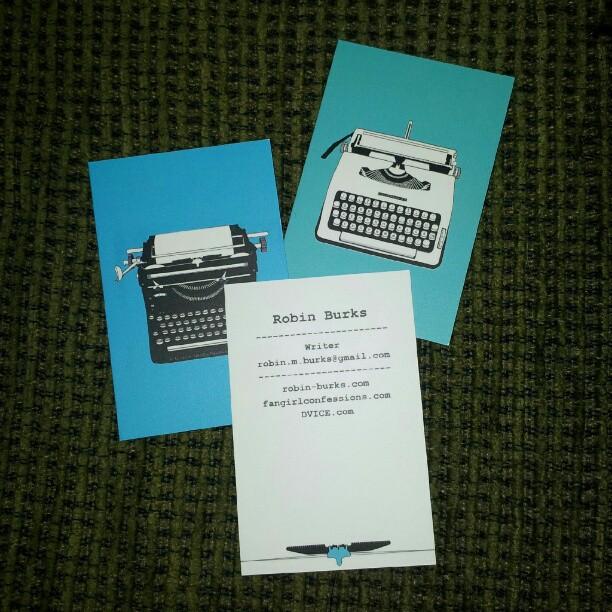 Robin Burks Business Cards