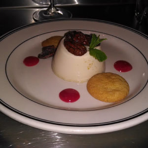 Maple Syrup Panna Cotta