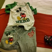 Mickey Mouse Nerd Pajamas